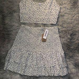 Comfy Floral Skirt Set From Garage